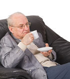 чай пролома Стоковые Фото