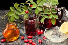 Чай плода шиповника Стоковая Фотография