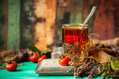 Чай плода шиповника Стоковые Изображения RF