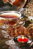 Чай рождества стоковые фотографии rf