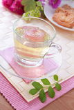 чай роз печений после полудня красивейший Стоковое фото RF