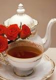 чай роз Стоковые Фото