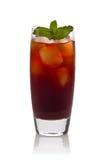 Чай со льдом гранатового дерева Стоковые Фотографии RF