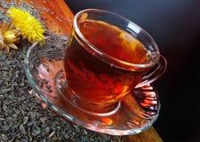 чай стекла чашки Стоковые Изображения