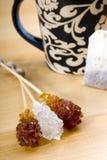 чай стола Стоковые Изображения RF