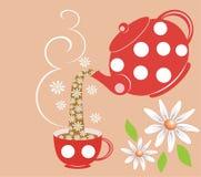 чай стоцвета бесплатная иллюстрация