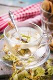 Чай с липой Стоковые Фотографии RF
