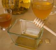 Чай с медом Стоковая Фотография RF