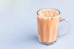 Чай с молоком или популярно известный как Tarik в Малайзии стоковая фотография rf