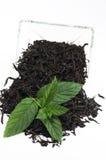 Чай с мятой стоковое фото rf