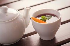 Чай с померанцем Стоковые Фотографии RF