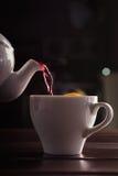 Чай с померанцем Стоковая Фотография RF