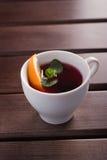 Чай с померанцем Стоковое Изображение