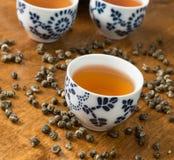Чай с чашка Стоковое фото RF