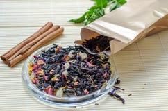 Чай с ягодами goji Стоковое Изображение RF