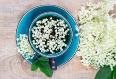 Чай с elderberry Стоковая Фотография