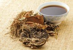 Чай традиционного китайския травяной Стоковое Изображение