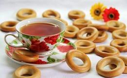 Чай утра Стоковая Фотография RF