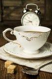 Чай утра Стоковые Изображения