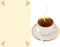 чай утра иллюстрация штока