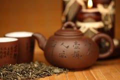чай фарфора стоковое изображение