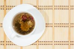 Чай цветка стоковое изображение
