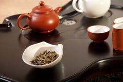 чай церемонии китайский традиционный Стоковые Фото
