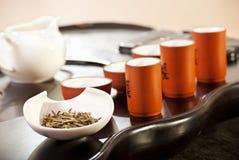 чай церемонии китайский традиционный Стоковое Изображение