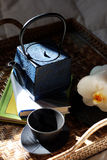 чай церемонии стоковое изображение