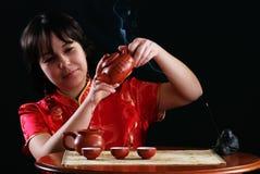 чай церемонии Стоковые Фотографии RF