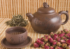 чай церемонии Стоковые Изображения