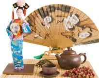чай церемонии Стоковое Изображение RF