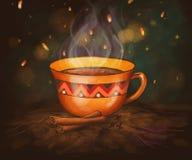 Чай циннамона стоковые изображения
