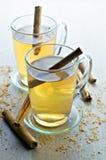 чай циннамона стоковое изображение