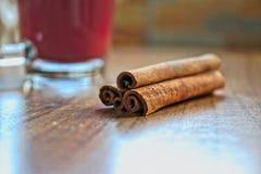 чай циннамона Стоковые Фото