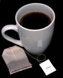 чай чашки ослабляя Стоковые Изображения