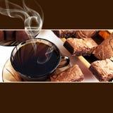 чай чашки предпосылки Стоковое фото RF