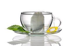 чай чашки принципиальной схемы Стоковое Фото
