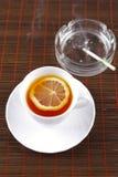 чай чашки сигареты ashtray Стоковые Изображения RF