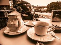 чай чашки славный стоковая фотография