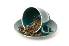 чай чашки сырцовый Стоковые Фотографии RF