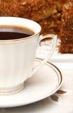 чай чашки торта Стоковые Изображения RF