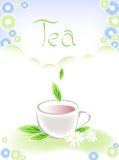 чай чашки Иллюстрация штока