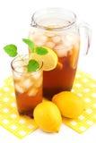 Чай льда лимона Стоковые Изображения