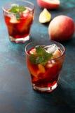 Чай льда персика Стоковые Изображения RF
