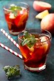 Чай льда персика Стоковое Фото