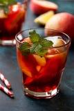 Чай льда персика Стоковое Изображение RF