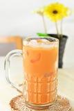 чай льда тайский Стоковая Фотография