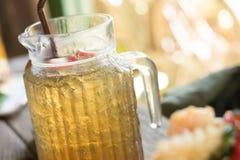 Чай льда Яблока Стоковая Фотография RF