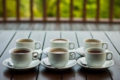 чай элементов конструкции кофе Стоковые Фотографии RF